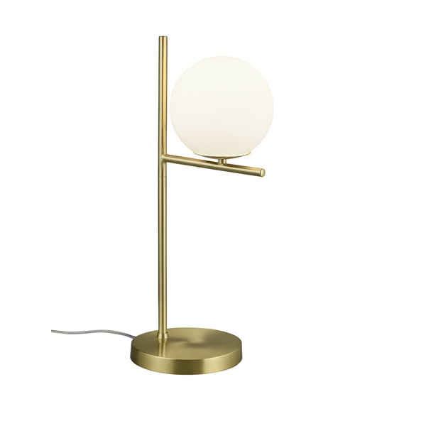 TRIO 502000108 Pure 28W E14 sárgaréz asztali lámpatest - 1