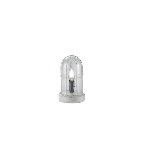 TRIO 503800161 Birte szürke asztali lámpa - 1