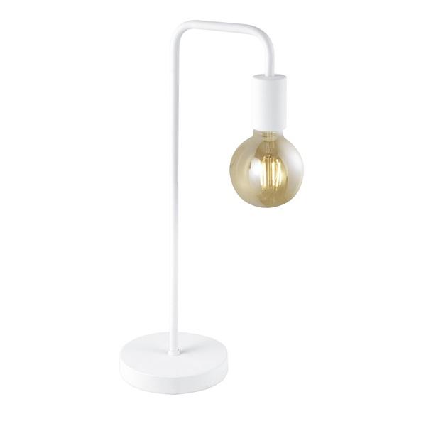 TRIO 508000131 Diallo 42W E27 fehér asztali lámpatest - 1