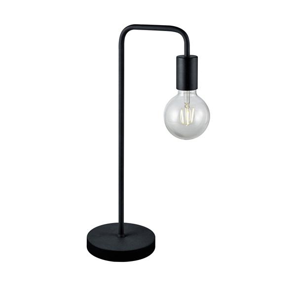 TRIO 508000132 Diallo 42W E27 fekete asztali lámpatest - 1