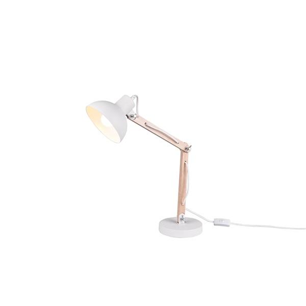 TRIO 508300131 Kimi 42W E27 fehér asztali lámpatest - 1