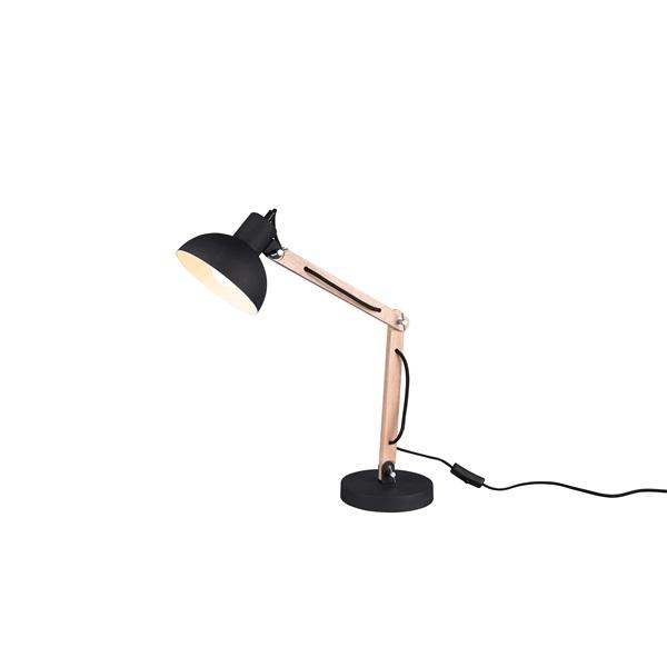 TRIO 508300132 Kimi 42W E27 fekete asztali lámpatest - 1