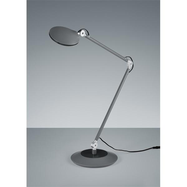 TRIO 527410142 Roderic 6W 670lm 3000K antracit asztali lámpatest - 1