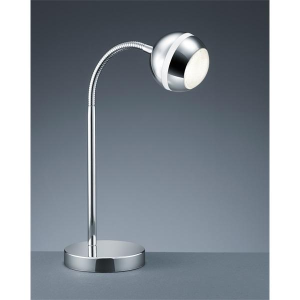 TRIO 528210106 Baloubet 3W 350lm 3100K króm asztali lámpatest - 1
