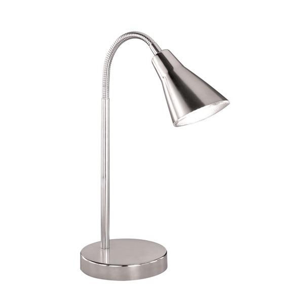 TRIO 528310107 Preto 4W 350lm 3100K nikkel asztali lámpatest - 1