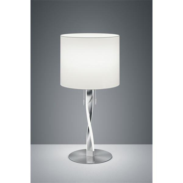 TRIO 575310307 Nandor 3W 300lm 3000K nikkel asztali lámpatest - 1
