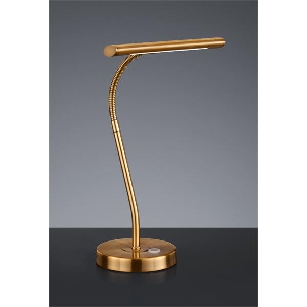 TRIO 579790104 Curtis 4W 380lm 3000K antik réz asztali lámpatest - 1