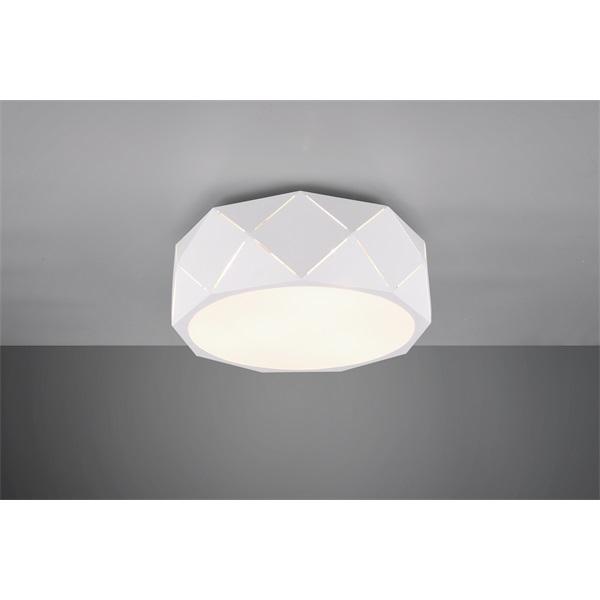 TRIO 603500331 Zandor 25W E27 fehér mennyezeti lámpatest - 1