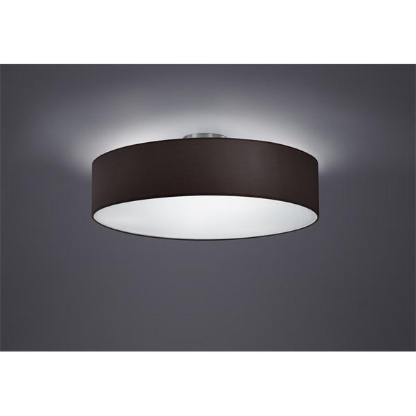 TRIO 603900302 Hotel 60W E27 nikkel mennyezeti lámpatest - 1