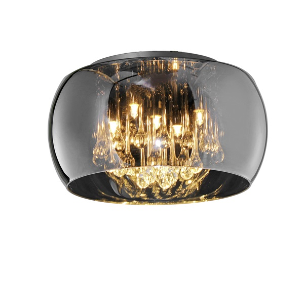 TRIO 611210506 Vapore 42W G9 króm mennyezeti lámpatest - 1