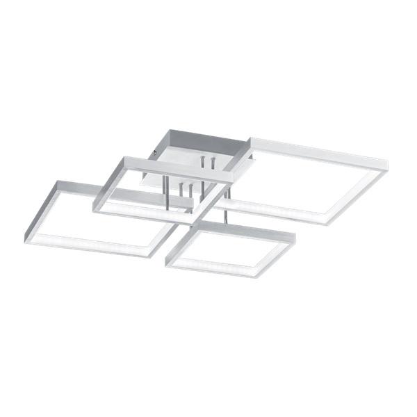 TRIO 627710405 Sorrento alumínium színű mennyezeti LED lámpa - 1