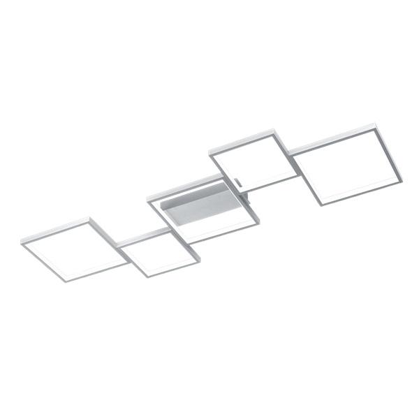 TRIO 627710505 Sorrento szürke fényerőszabályzós fali/mennyezeti LED lámpa - 1