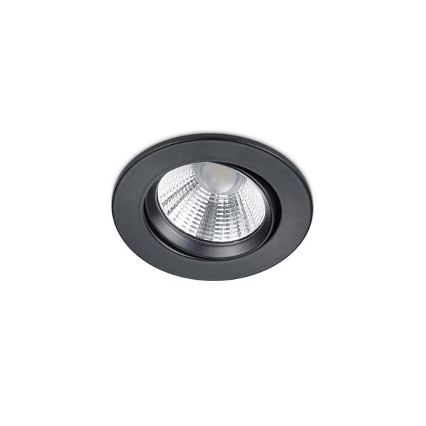 TRIO 650510132 Pamir 5W 345lm 3000K fekete süllyesztett lámpatest - 1