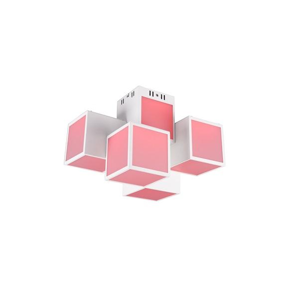 TRIO 652810531 OSCAR 5x7W RGBW LED/ 3000-6000K/ 5x600Lm fehér mennyezeti lámpatest - 1