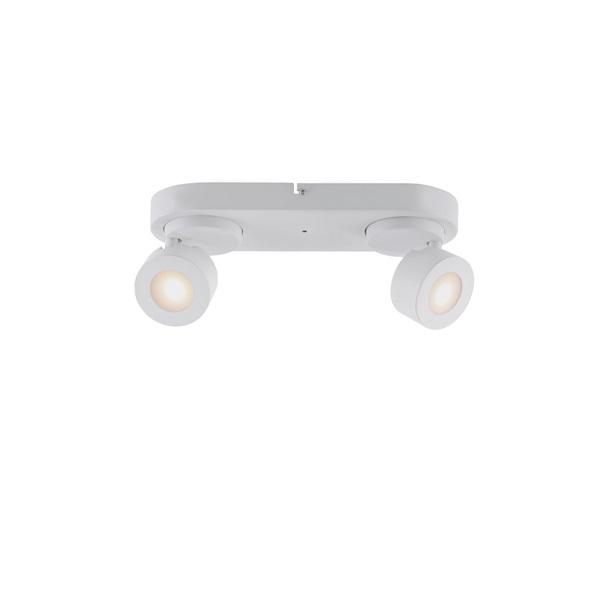 TRIO 850110231 SANCHO 2 x 3W RGBW-LED/ 3000-5000K/ 300Lm fehér mennyezeti lámpatest - 1