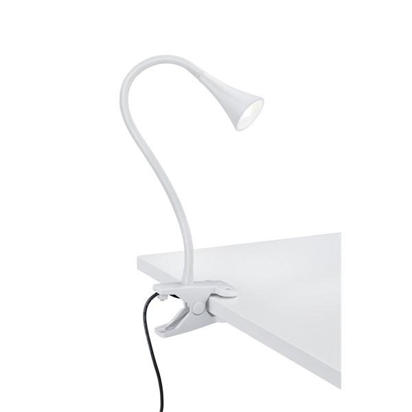 TRIO R22398101 Viper 3W 260lm 3000K fehér asztalhoz rögzíthető lámpatest - 1