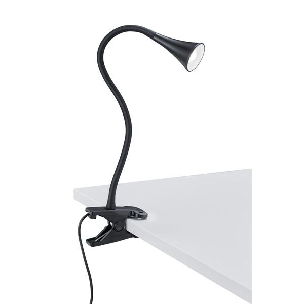 TRIO R22398102 Viper 3W 260lm 3000K fekete asztalhoz rögzíthető lámpatest - 1