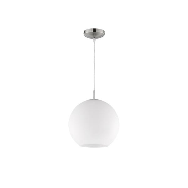 TRIO R30153007 Moon fehér üveg mennyezeti lámpa - 1
