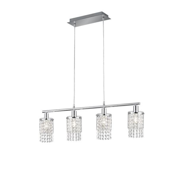 TRIO R30764006 Posh króm 4-es mennyezeti LED lámpa - 1