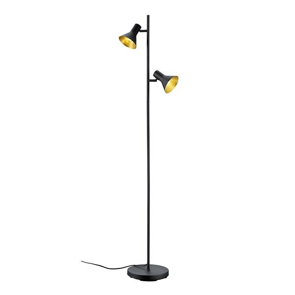 TRIO R40162002 Nina 28W E14 fekete álló lámpatest - 1
