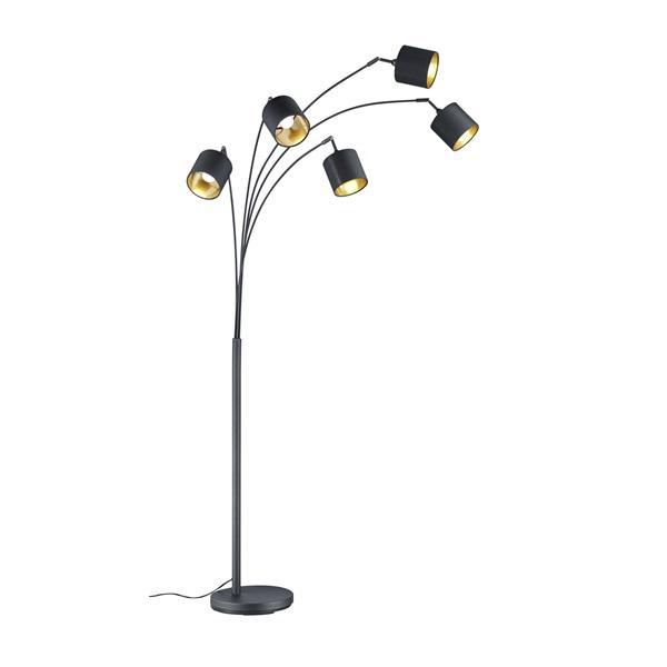 TRIO R46330579 Tommy 28W E14 fekete álló lámpatest - 1