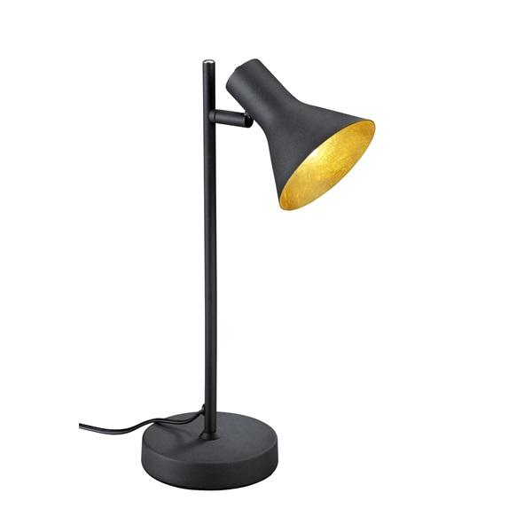 TRIO R50161002 Nina 28W E14 fekete asztali lámpatest - 1