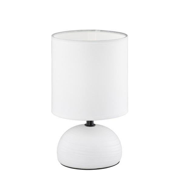 TRIO R50351001 Luci 40W E14 fehér asztali lámpatest - 1
