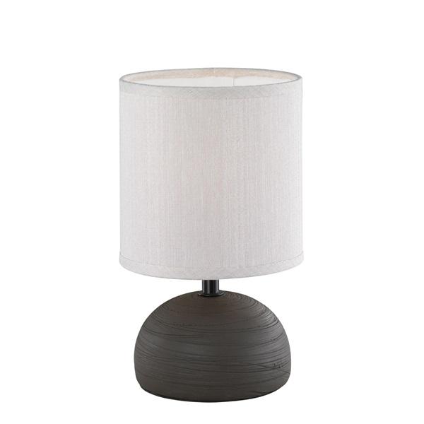 TRIO R50351026 Luci 40W E14 barna asztali lámpatest - 1