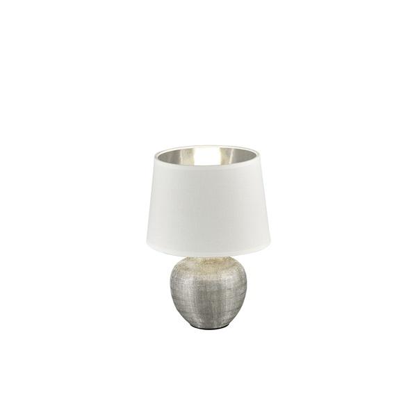 TRIO R50621089 Luxor 40W E14 ezüst asztali lámpatest - 1