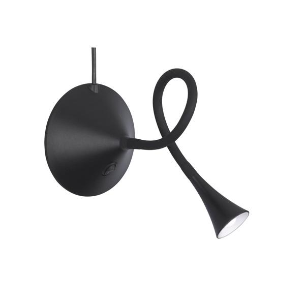TRIO R52391102 Viper 3W 260lm 3000K fekete asztali lámpatest - 1