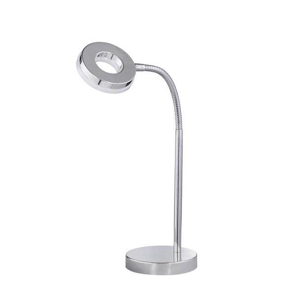 TRIO R52411106 Rennes 4W 350lm 3000K króm asztali lámpatest - 1
