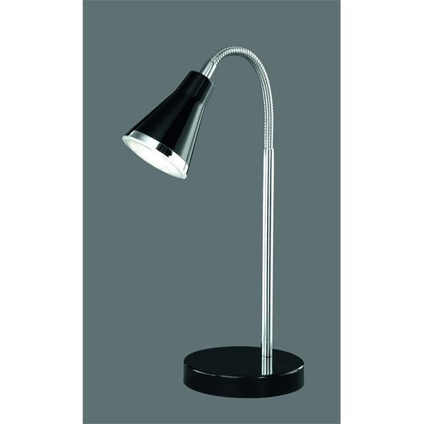 TRIO R52711102 Arras 3W 350lm 3000K fekete asztali lámpatest - 1