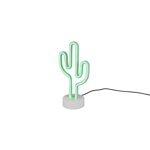 TRIO R55220101 Cactus 29,5 cm USB asztali lámpa - 1