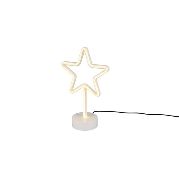 TRIO R55230101 Star 30,5 cm USB asztali lámpa - 1