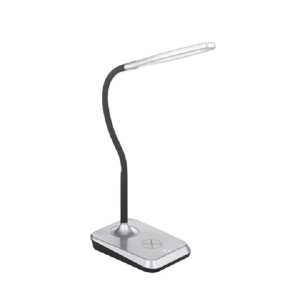 TRIO R59019987 Charger ezüst asztali lámpa - 1