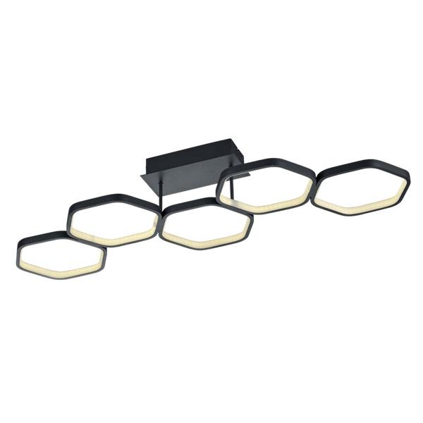 TRIO R62055142 Vigo antracit fényerőszabályzós LED mennyezeti lámpa - 1