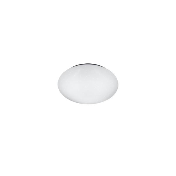 TRIO R62681201 Putz 27 cm átmérő, kristály hatású mennyezeti lámpa - 1