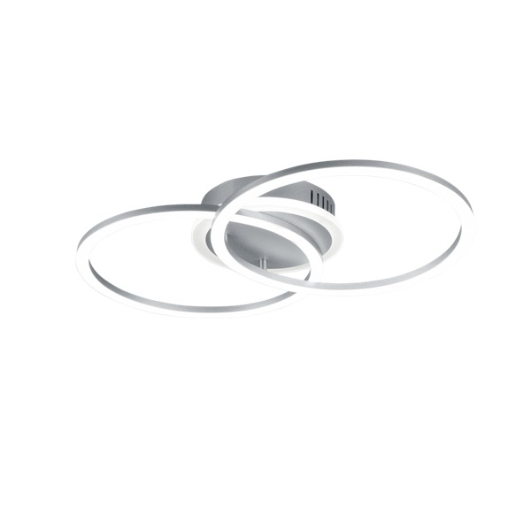 TRIO R62783187 Venida titán fényerőszabályzós LED mennyezeti/fali lámpa - 1